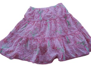 Lilly Pulitzer Skirt Phipps Pink