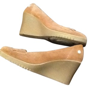 UGG Australia Shearling Wedge chestnut Wedges