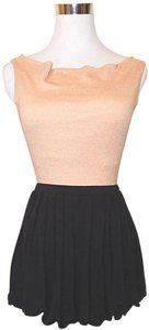 Tart Collections Micro-mini Mini Ultra Mini Pleated Mini Skirt Black