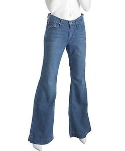 James Jeans Teal Wash Stretch Trouser/Wide Leg Jeans