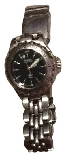 Preload https://item1.tradesy.com/images/fossil-silver-with-black-face-watch-141160-0-0.jpg?width=440&height=440
