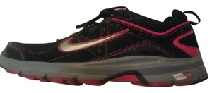 Nike Workout Running Exercise Black, Pink, silver Athletic