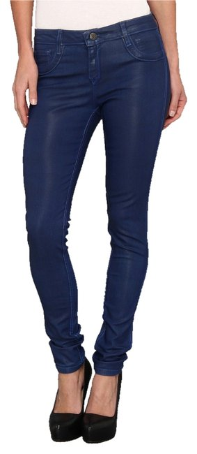 Item - Coated Reversible Skinny Jeans Size 25 (2, XS)