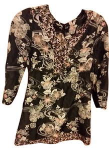 H&M Flower Floral Tunic