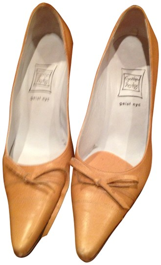 Preload https://item4.tradesy.com/images/cynthia-rowley-medium-brown-leather-with-string-tie-pumps-size-us-6-141163-0-0.jpg?width=440&height=440