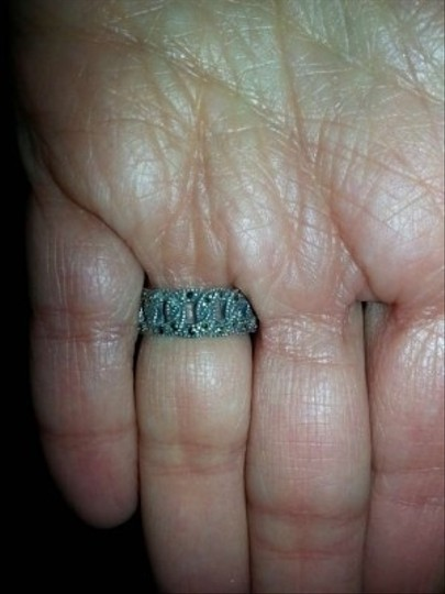 Boutique Vintage Style Marcasite Ring