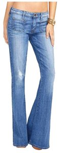Guess Bell Bottoms Flare Leg Jeans-Medium Wash