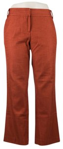 Tory Burch Chic Fall Capri/Cropped Pants Rust