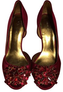 Nine West Passion Deep Red Platforms