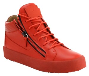 Giuseppe Zanotti Double Zip RED Athletic