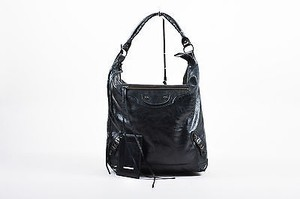 Balenciaga Coated Leather Classic Giant Day Hobo Bag