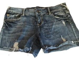 Wet Seal Shorts Blue Jean