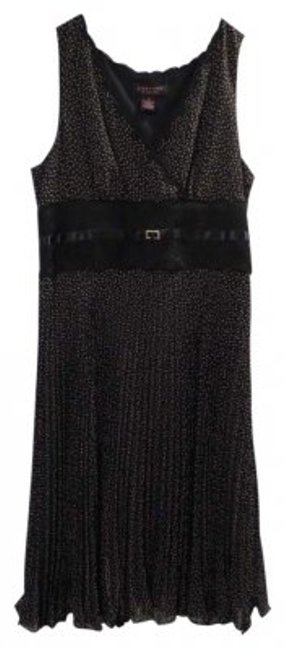 Signature by Robbie Bee Empire Wast Crystal Embellishment Lace Dress