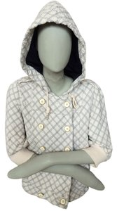 Marc by Marc Jacobs Hoodie Cream and Navy Jacket