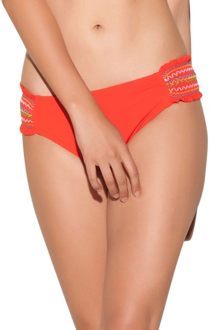 Item - Orange E/Fiesta Fever Bikini Bottom Size 10 (M)