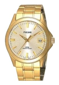 Pulsar Brand New with Tags Men's Gold Water Resistant Watch