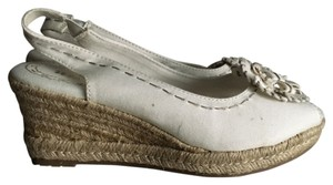 Naturalizer White Wedges