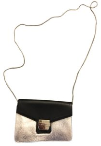 MILLY Leather Evening Cross Body Bag