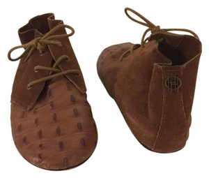 House of Harlow 1960 Bootie Oxford Moccasin Boho Brown Boots