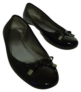Coach Patent Leather black Flats