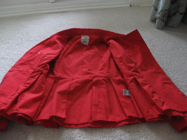 Tulle Coral Red Jacket