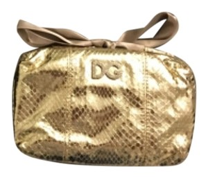 Dolce&Gabbana D&g Small Wristlet in Gold