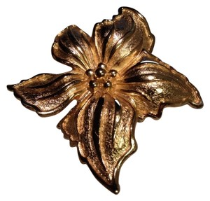 Dior Vintage Christian Floral Dior Pin