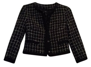 H&M Grey and Black Blazer