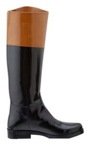 Michael Kors Black/ luggage Boots