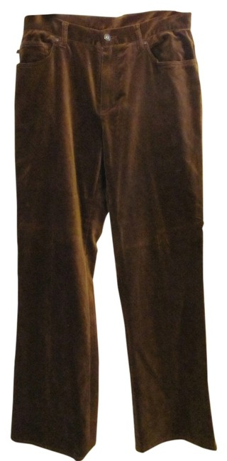 Ralph Lauren Wide Leg Pants Brown