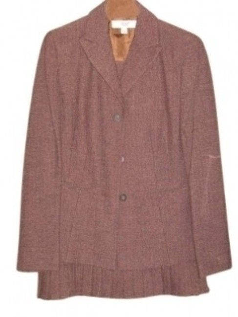 Item - Copper Brown Two Piece Skirt Suit Size 6 (S)