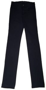 J Brand Rinse Casual Cheap Straight Leg Jeans-Dark Rinse
