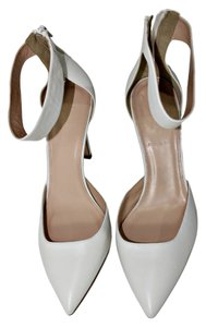 J.Crew Pump Ankle Strap Pointed Toe OffWhite Pumps
