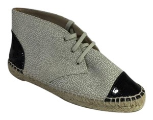 Chanel Espadrille Black/Beige Athletic