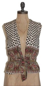 Anthropologie Tie Closure Spring Summer Vest