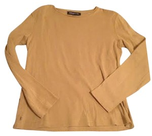 Jones New York Mustard Yellow Fall Top Camel