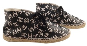 Chanel Espadrille Black Athletic