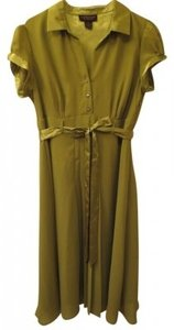 Robbie Bee Collar Chiffon Dress