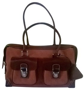 Dooney & Bourke Tote in Rust/Chestnut Leather