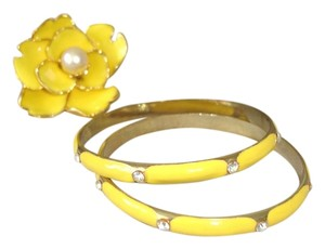 Other yellow double bracelets