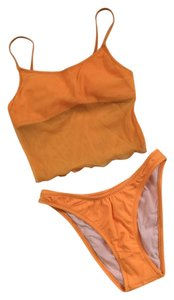 California Waves Neon Orange Swimwear