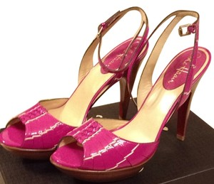 Cole Haan Fuschia Patent Sandals