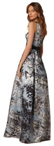Aidan Mattox Ball Gown Pockets Satin Dress
