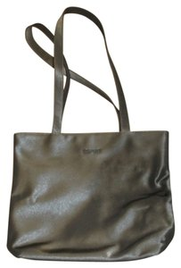 Esprit Vinyl Tote in Grey
