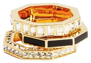 Marc by Marc Jacobs lost & found octagon stacking ring set
