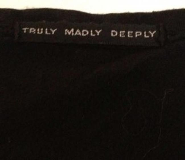 Truly Madly Deeply T Shirt Black