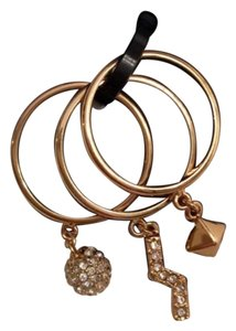 Rebecca Minkoff Stackable Charm Rings