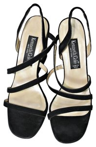Kenneth Cole Wedge Black Wedges