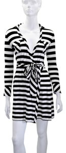 Diane von Furstenberg short dress Black&White Dvf on Tradesy