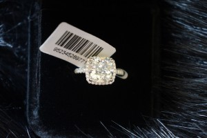 Size 4.5 5 5.5 6 7 And 8 In Stock Ring Diamond Square Band Wedding Engagement Cushion Square New Sona Usa Proposal Wife